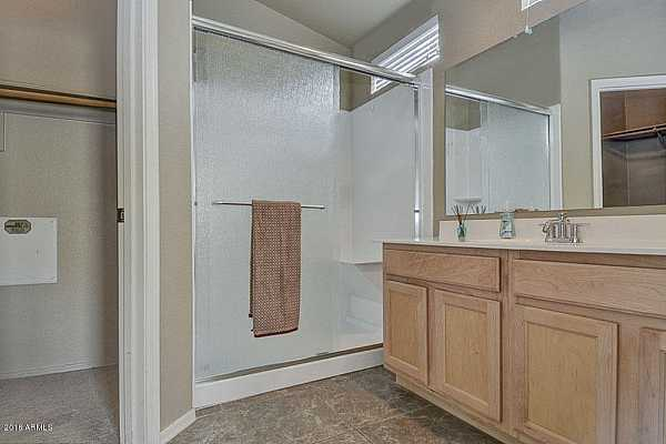 Photo #5 Master bath with renovated shower
