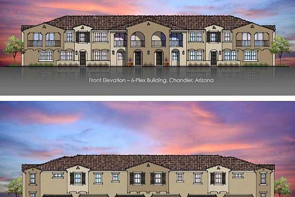 Photo #8 Front and Back Elevation