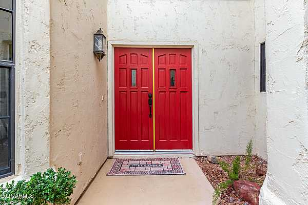 Photo #6 DOUBLE DOOR FRONT ENTRANCE TO HOME